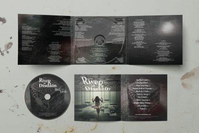 Print Design – River of Disdain CD Design
