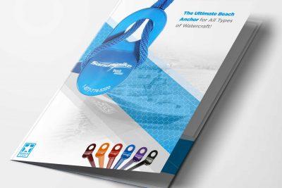 Print Design – Sandspike Presentation Folder