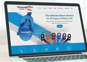 WordPress Website Design for Sandspike