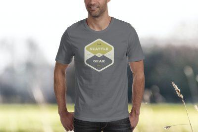 Print Design – Seattle Gear Established T-Shirt Design