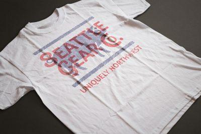 Print Design – Seattle Gear Piggy T-Shirt Design