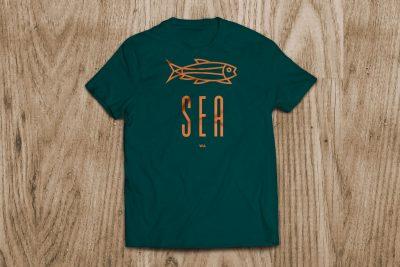Print Design – Seattle Tourist T-Shirt Design
