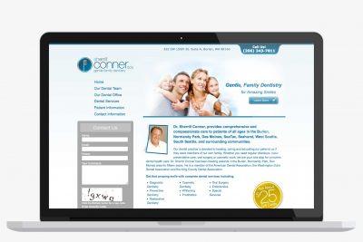 Website Design Dr. Sherrill Conner, DDS