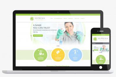 Website Design Suprema Cleaning