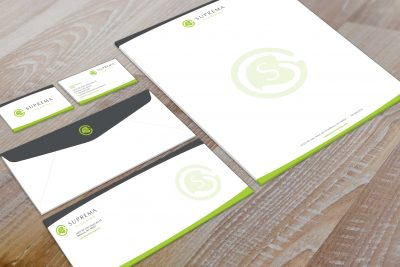 Stationery Design – Suprema Cleaning