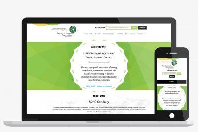 Website Design Weatherization Association of Washington