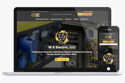Website Design W.E. Electric