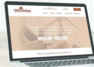 WordPress Website Design - The Image Department