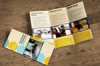 Print Design – Work Nooks Brochure