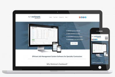 Website Design Workman's Dashboard