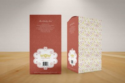 Print Design – WOW Chocolates Packaging